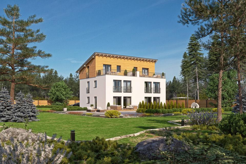 Holz-Doppelhaus - Zum Glück Bötzow